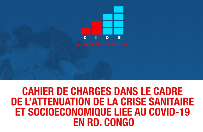 Cahier des charges CIDE-RIPOSTE-COVID-19
